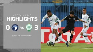 CAF CC | Pyramids FC 0 – 3 Raja CA