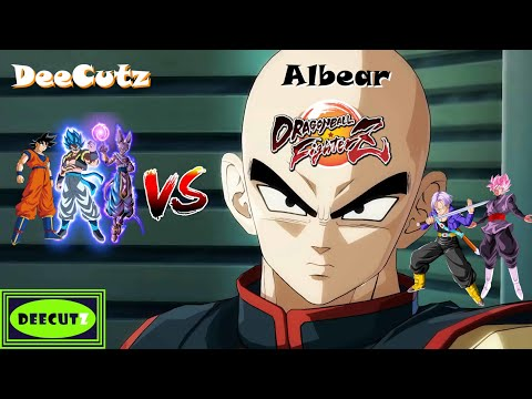 DBFZ: Gogeta the cool Vs the angriest Tien