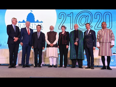 Climate Change and Sustainable Growth Are Defining Themes for 2020 | Raisina Dialogue 2020