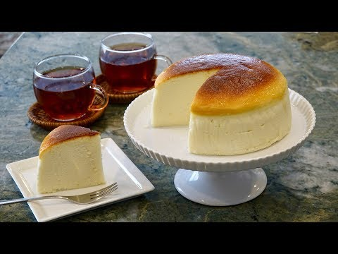 Souffle Cheesecake Recipe – Japanese Cooking 101