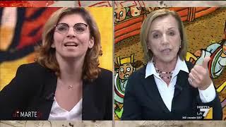 Laura Castelli (M5S) si confronta con Massimo Giannini ed Elsa Fornero