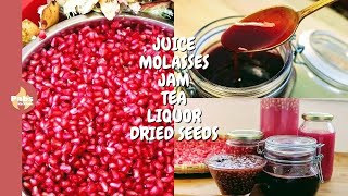 The BEST Ways To Eat A Pomegranate