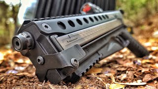 Brand New KelTec P50... Better than FN P90???