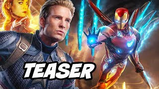 Avengers 4 Teaser - Costume Upgrades Breakdown