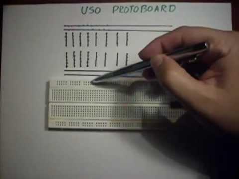 ✅ Protoboard, Como armar circuitos (Breadboard)