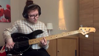 Frank Ocean - Pink + White (Bass Cover)