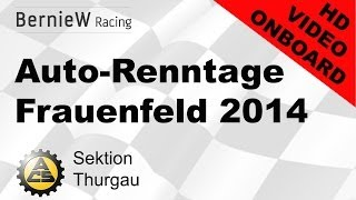 preview picture of video 'Slalom Auto-Renntage Frauenfeld 2014'