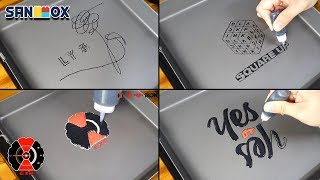 KPOP album logo BTS, BLACKPINK, TWICE, EXO Pancake art