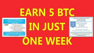 Earn 5 BTC In Just One Week | How To Sign Up In Monemate Payment Proof Of Monemate