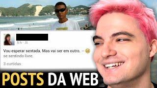REAGINDO AOS MELHORES POSTS DA WEB