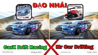 """Xuất hiện tựa game mới """"ĐẠO NHÁI"""" CarX Drift Racing - ngang nhiên ăn cắp bản quyền"""