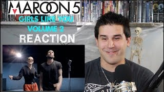 Maroon 5   Girls Like You Ft. Cardi B (Volume 2)   REACTION