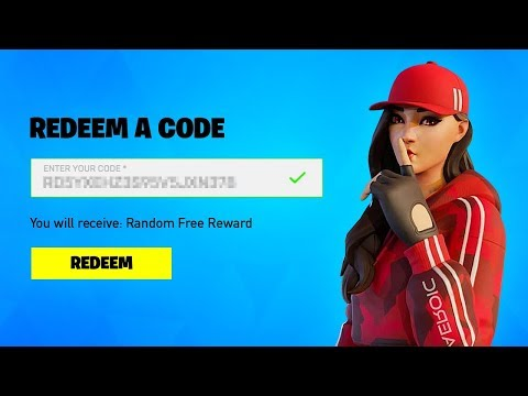 Fortnite Redeem A Code, 01-2021