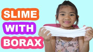 Slime with Borax! Easy Slime Tutorial for Beginners!