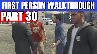 GTA 5 First Person Gameplay Walkthrough Part 30 - DOUBLE DATE! | GTA 5 First Person