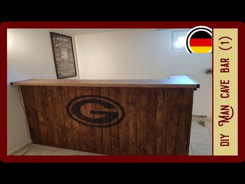 Bar selbst bauen | Man Cave (Teil 1) | DIY Bar