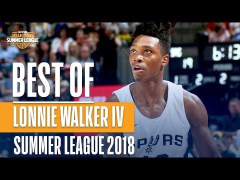 Best Of Lonnie Walker IV From The 2018 NBA Utah Summer League