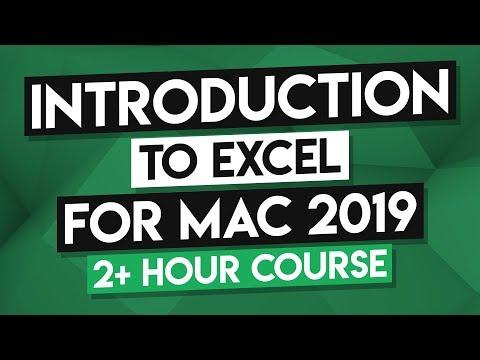 Microsoft Excel Mac Tutorial: MS Excel Mac Training Course - 2+ ...