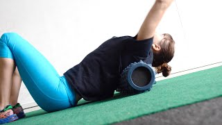 Upper Body Foam Roller Exercises - 11 Upper Body Form Rolling Moves by Redefining Strength