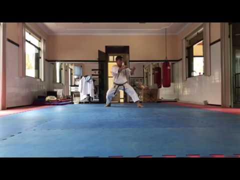 Kata Wankan JKA (treino, dia 29.01.2018)