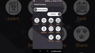 Virtual currency app daily self income 7 full explain /తెలుగులో/