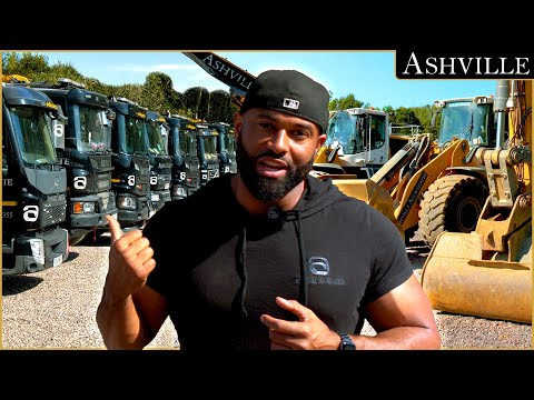 The Ashville Construction The future, How I Grew From 1 Lorry to a Fleet of Over 35 Vehicles