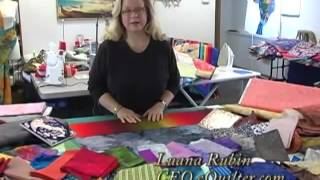 Luana Rubin's Color Ideas from Italy at eQuilter Studio