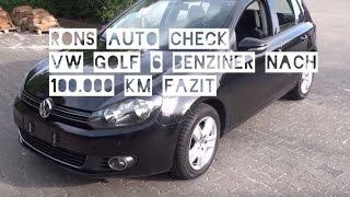 VW Golf VI 6 im Test - Langzeit Erfahrung nach 100.000km Comfortline Check und Kauf Empfehlung