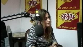 Sanja Ruseska vo Radio Bravo