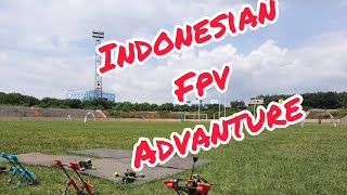Indonesian fpv drone racing   A friendly visit from depok fpv
