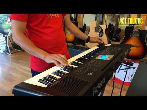Demo Style Roland BK3 BK5 BK9 và E-A7 bài Lần đầu tiên nói dối