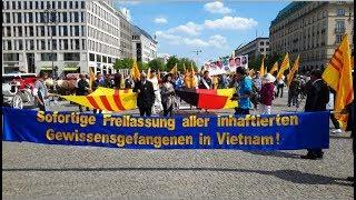 Biểu Tình Tưởng Niệm 43 Năm Quốc Hận (1975 - 2018) Tại Berlin - Đức Quốc