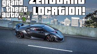 GTA V ZENTORNO LOCATION!! [STORY MODE]