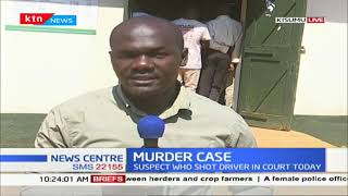 A bus manager who shot a matatu driver in Kisumu to be arraigned in court today