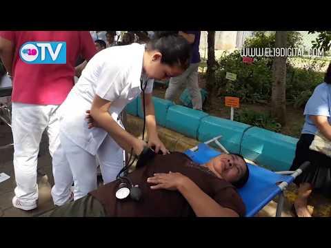 Masaya participa activamente en ejercicio de protección a la vida
