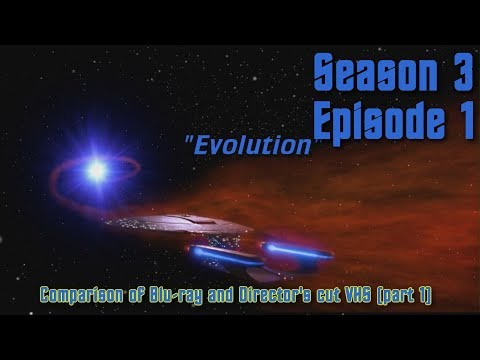 Star Trek: TNG - Evolution - Blu-ray version vs. Director's cut (part 1)