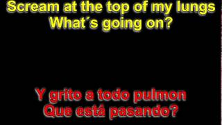4 Non Blondes - What's Up ( Lyrics - Letra )