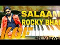 KGF | SALAAM ROCKY BHAI song-keyboard | Yash | Prashanth Neel | Ravi Basrur