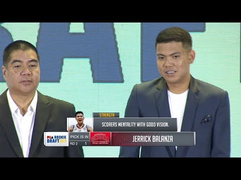 [Sport5]  2nd Round Draft Pick | PBA Rookie Draft 2019