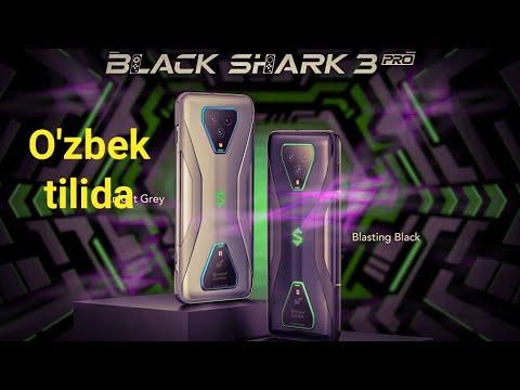 XIAOMI BLACK SHARK 3/BLACK SHARK 3 PRO-O'ZBEK TILIDA//GEYMERLAR ORZUSIDAGI TELEFON 2020