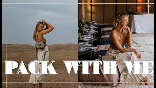 PACK WITH ME // What I'm Wearing In Morocco // Fashion Mumblr