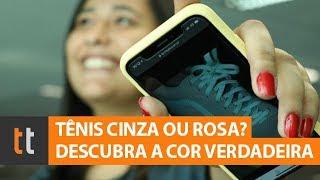 Tênis Cinza Ou Rosa? Saiba Qual é A Verdadeira Cor Da Foto