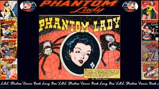 "Phantom Lady: Police comics # 09 ""Unknown to anyone,Senator Knights Beautiful Daughter"""