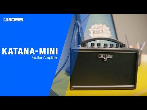 BOSS Katana Mini Kytarové modelingové kombo