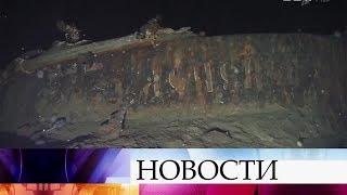 Легендарный крейсер «Дмитрий Донской» обнаружен в Японском море.