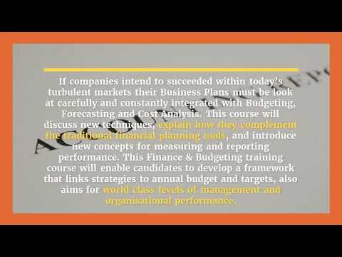 Budgeting and Business Planning Integrated Approach Training ...