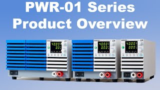 NEW Kikusui PWR 01 DC Programmable Bench DC Power Supply Overview