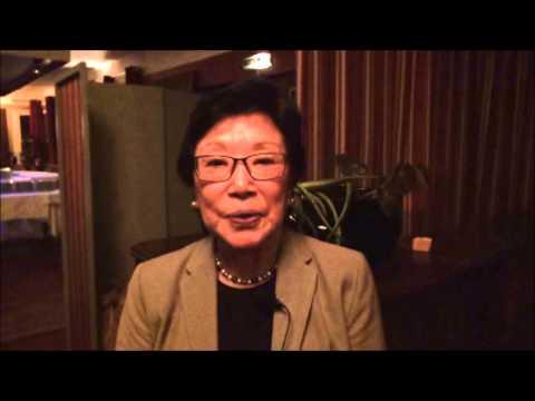 AFS日本60周年お祝いメッセージ Mrs.Tsugiko Scullion