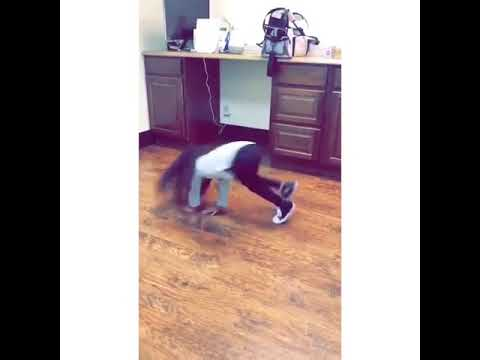 Watch Chris Brown Daughter Royalty dance his new Song