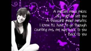 Christina Grimmie - Counting [lyrics]